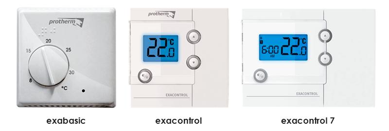 Комнатные терморегуляторы для котлов Protherm Скат